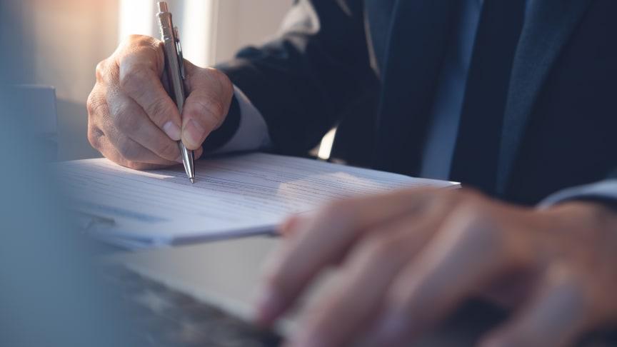 SSGs nya kurs inom avtals- och köprätt vänder sig till de som arbetar i en inköpsfunktion.