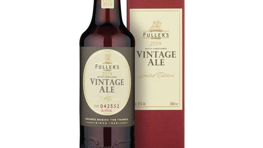 Årlig ölklassiker är tillbaka - Fuller's Vintage Ale 2019