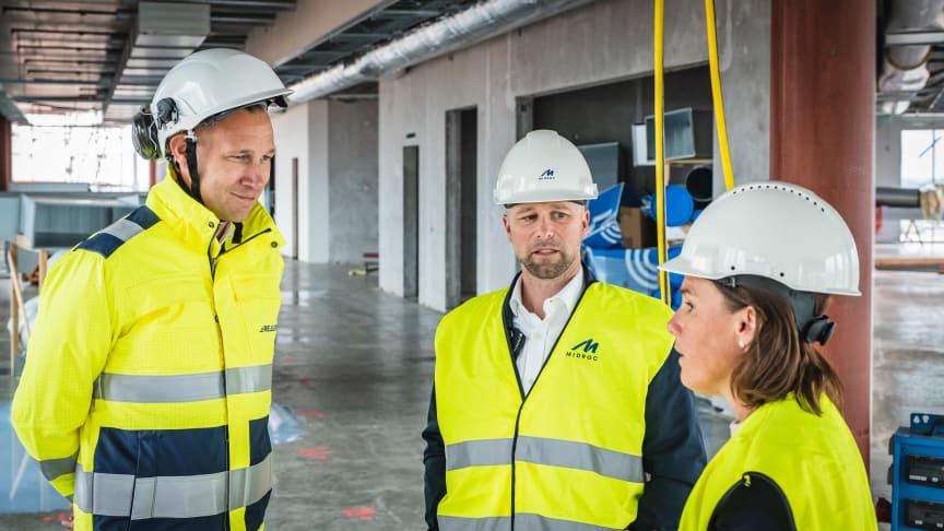 Rejlers flyttar in i Midrocs fastighet The Edge, Malmö