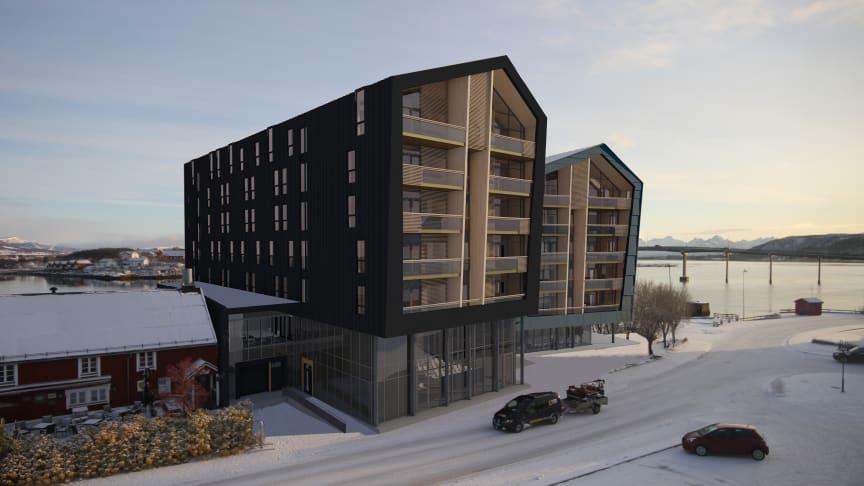Quality Hotel Richard With har byggstart våren 2020.