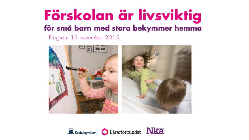 Förskolan är livsviktig för små barn med stora bekymmer hemma