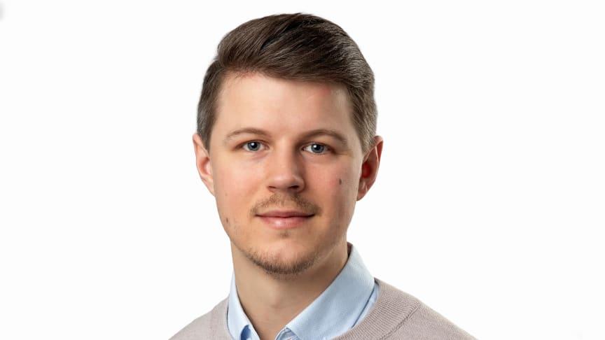 Filip Stark ny säljare för Hager på region syd