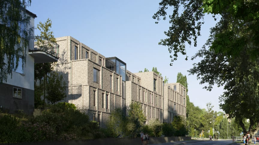Under Stora visningshelgen visar Riksbyggen bland annat inflyttningsklara lägenheter i Brf Rosenhäll, Linköping.