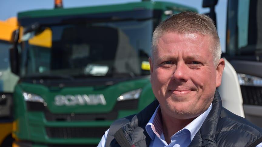 Michael Rasmussen er ny salgschef for den østlige del af Danmark