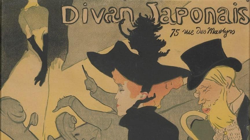 Henri de Toulouse-Lautrec, Divan Japonais, 1893 © Musée d'Ixelles-Bruxelles / Courtesy of Institut für Kulturaustausch, Tübingen.