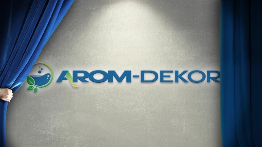 Arom-dekor Kemi byter kostym i tre länder!
