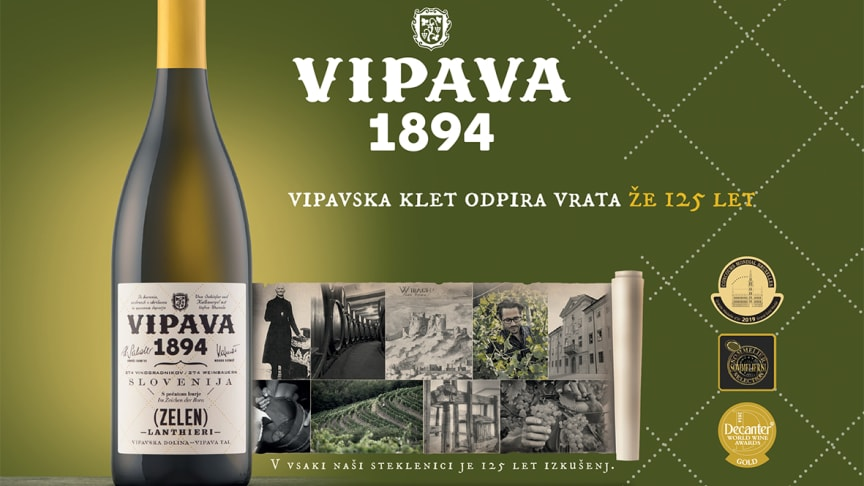 """Vipava 1894"" - Pinot Gris - Sauvignon Blanc - Cabernet Sauvignon"