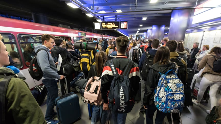 Anreise zum Internationalen Jugendtag 2019 in Düsseldorf