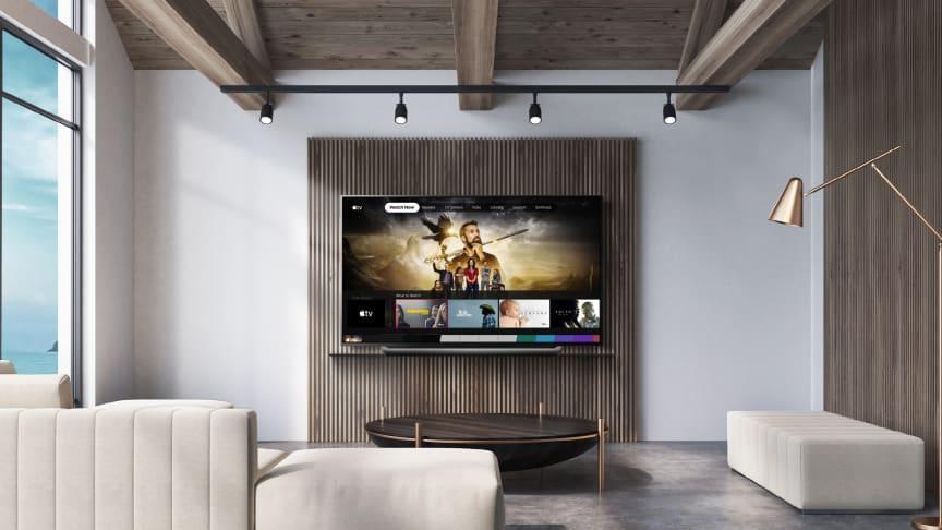 Nå er Apple TV-appen og Apple TV+ tilgjengelig på LGs TV-modeller fra 2019