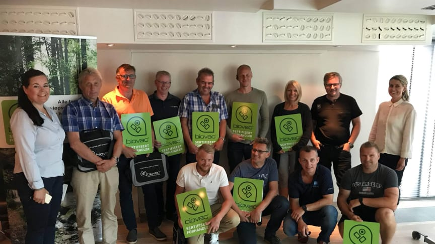 Fra sertifiseringshurset Biovac holdt i Haugesund i juni 2018