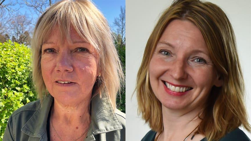 Lena Garberg och Carina Carlund driver projektet Ökad högskoleövergång