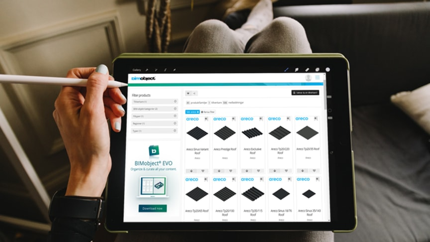 En boom för BIM, när hela produktportfolion digitaliseras