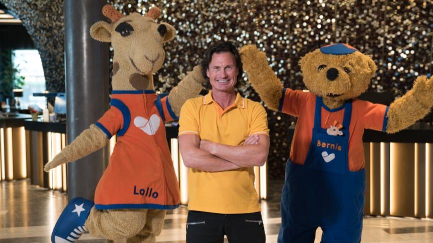 Bild: Lollo, Petter Stordalen och Bernie