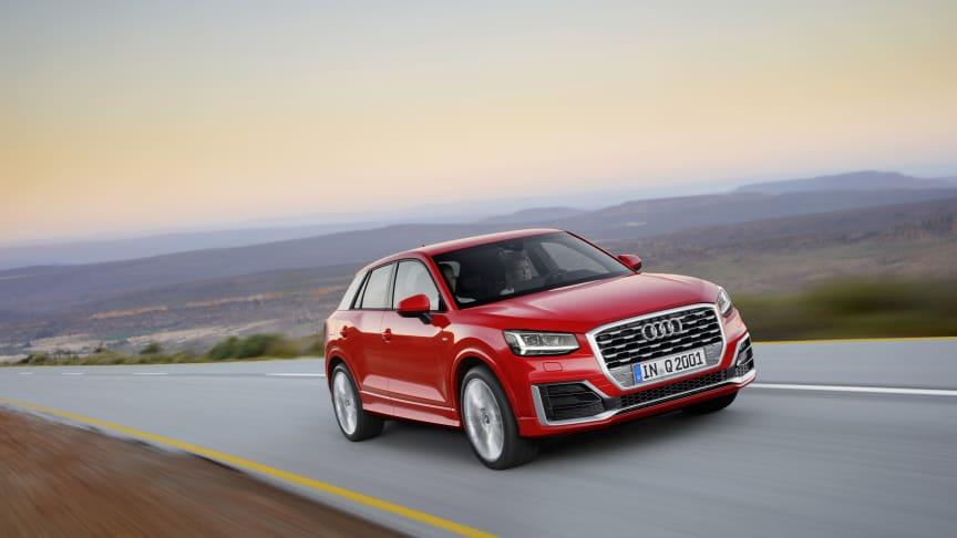 Sløret løftes for den nye Audi Q2
