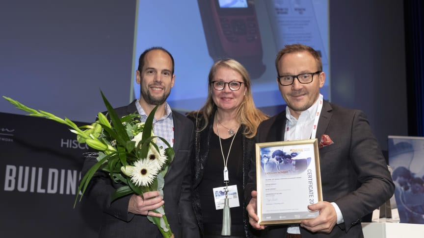 Garmin vinner DAME Award for trollingmotoren Force og GPSMAP 86i