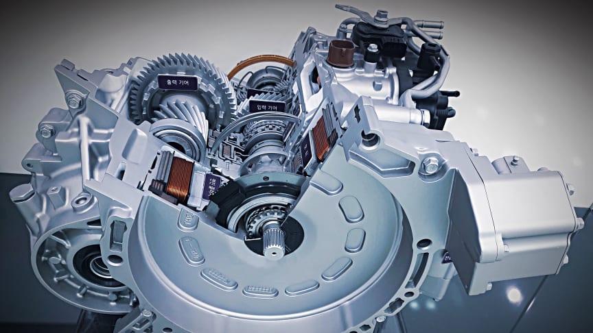Active Shift Control - Hyundai presenterar världsunik teknik för hybridbilar.