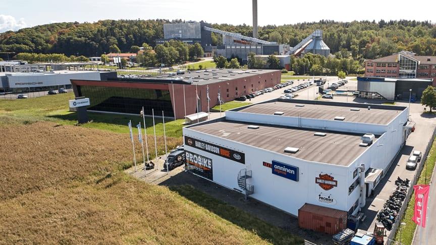 På Aminogatan 32C i Mölndal öppnar Lindab under våren 2020 sin andra butik i Göteborgsområdet.