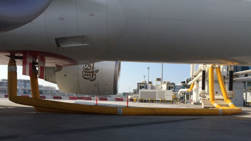Cavotec PCA systems ensure aircraft are cooled quickly and efficiently.