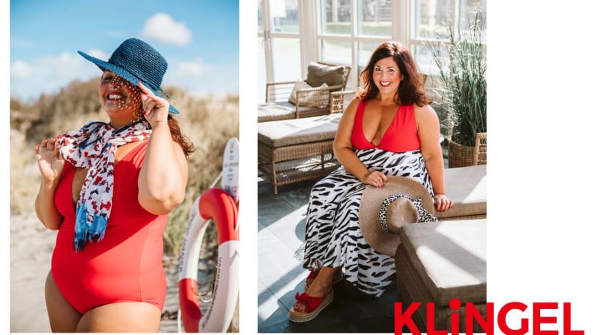 Lekfulla mönster och maritimt mode i sommarens bad- och strandkollektion