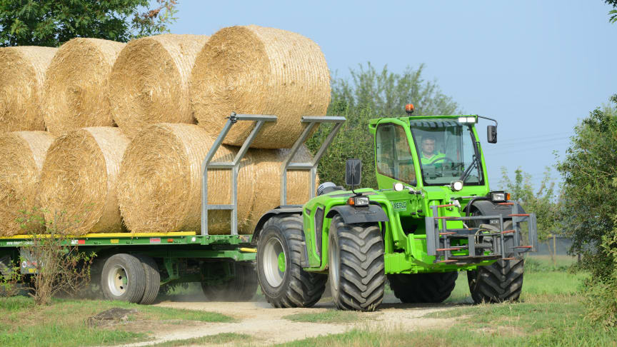 Smarta Merlo för smart lantbruk