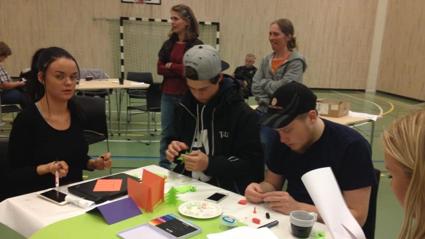 Torstas elever i arbete under Grunderkamp 2017