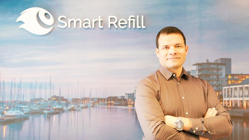 Redha Cherif, CTO at Smart Refill from April 1st 2020