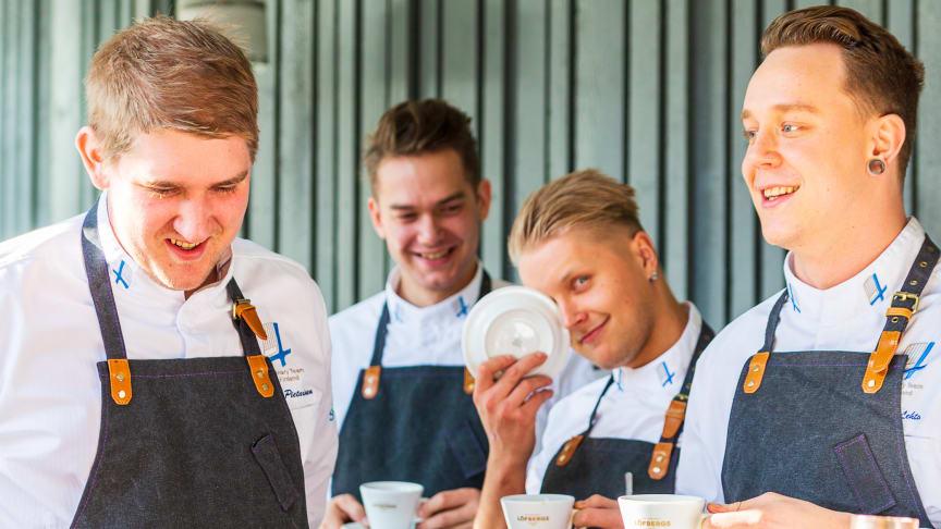 Löfbergs jatkaa yhteistyötä Suomen kokkimaajoukkueen kanssa