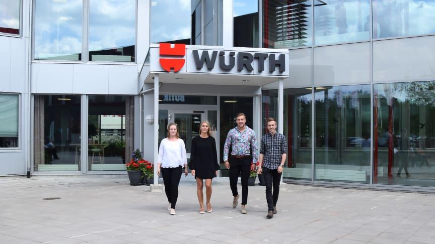 Nu startar Würth Svenska en andra omgång av Würths Försäljningsskola.