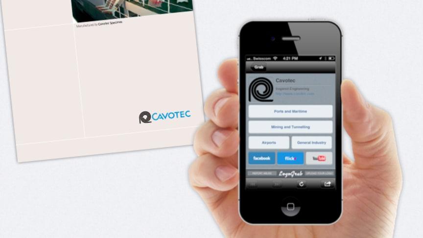 "Cavotec ""digitises"" logo with LogoGrab app"