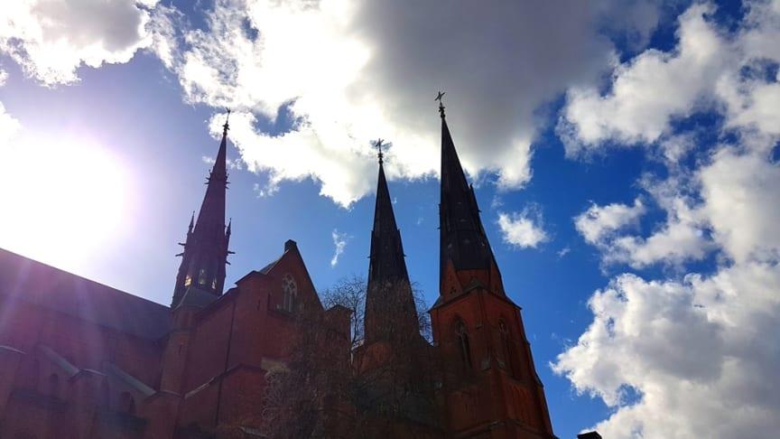 Under högtidsgudstjänsten i domkyrkan dialogpredikar Svenska kyrkans ärkebiskop och föreståndaren för Pingst.