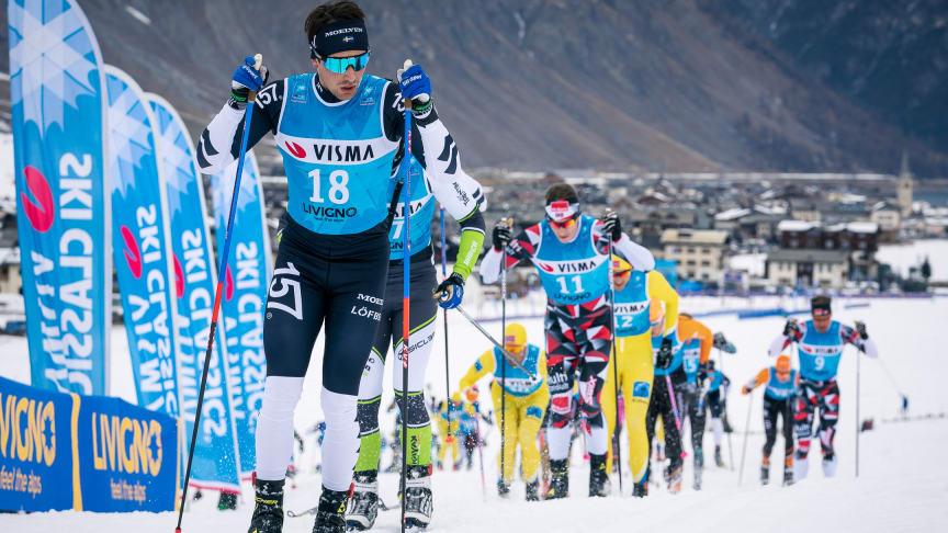 Visma forlenger som tittelsponsor for Ski Classics til 2022.