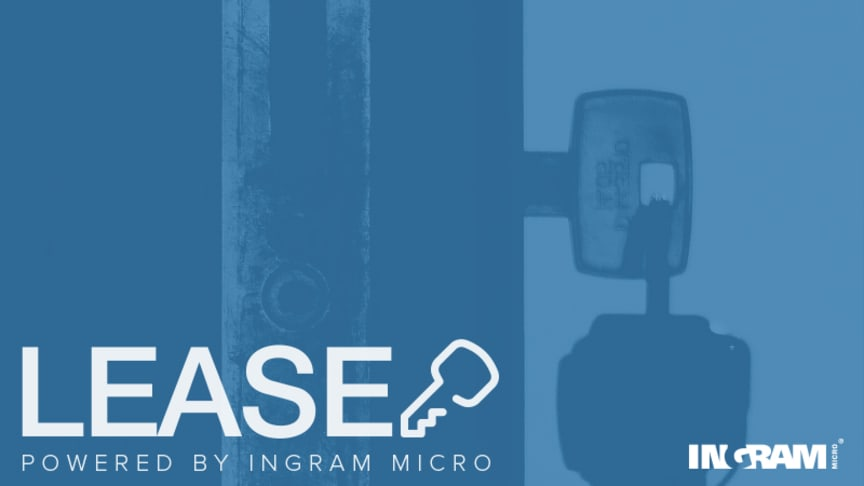 Lås upp nya affärsmöjligheter med Ingram Micro LEASE