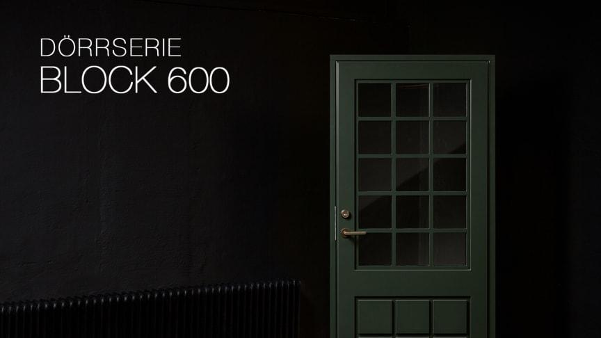 Dörrserie Block 600