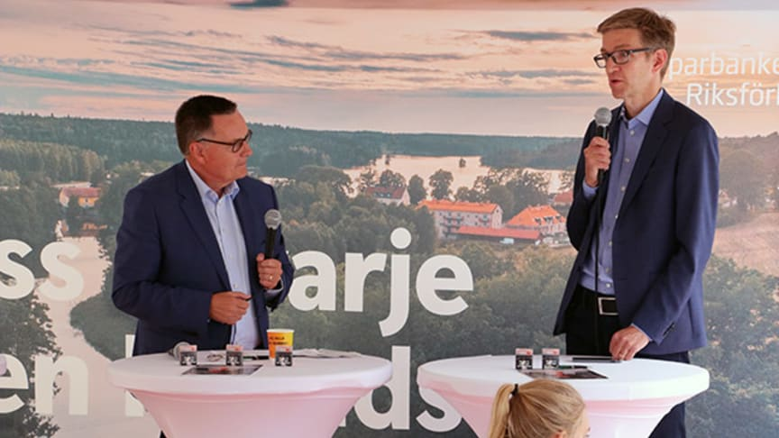 Göran Hedman och Martin Flodén