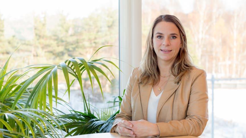 Vi ska se till att våra system är anpassade och hanterar personuppgifter så att vår kund uppfyller lagen. En stor del av vår systemutveckling handlar om stöd för bättre rensningsrutiner och ökad säkerhet kring dataexportering, säger Frida Gustavsson.