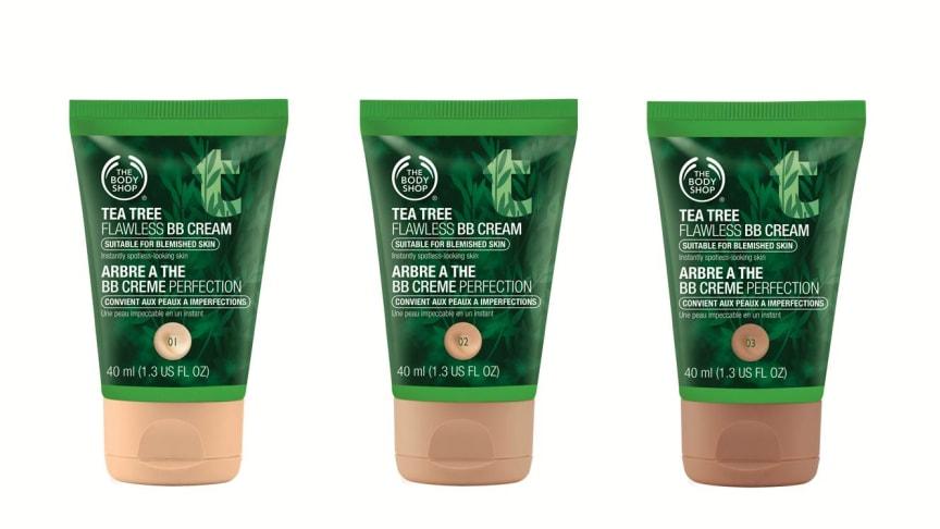 The Body Shop lanserar ny BB Cream med djuprengörande tea tree