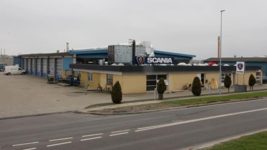 Scania i Herning moderniseres og miljøsikres