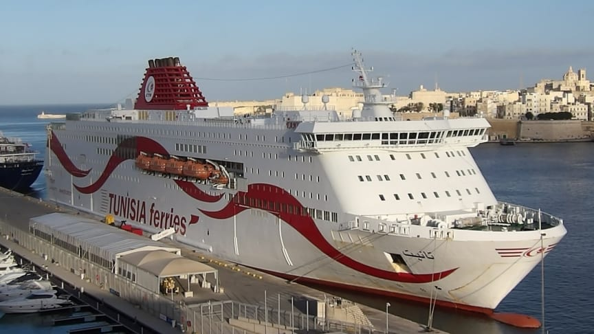 Hogia Ferry Systems has signed an agreement with the Tunisian ferry operator Compagnie Tunisienne de Navigation.