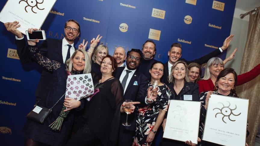 """Fokus på gästen och hållbarhet gav utdelning för Nordic Choice Hotels på besöksnäringens """"Oscarsgala"""""""