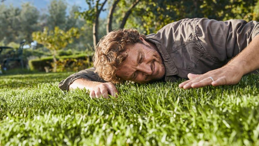 Kvarterets grønneste græsplæne – hele året rundt