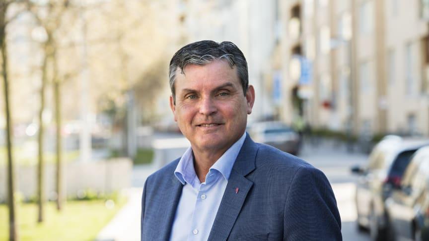 Leif Linde, vd Riksbyggen