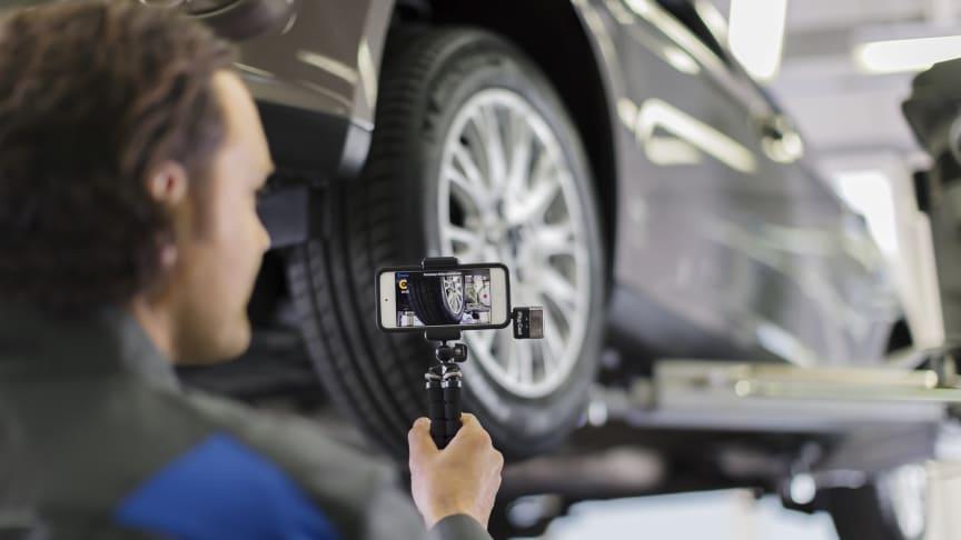 Bezkontaktní služba pro majitele vozů Ford