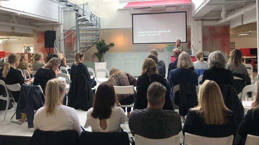 Frukostseminarium om datadriven PR med Karin Bäcklund