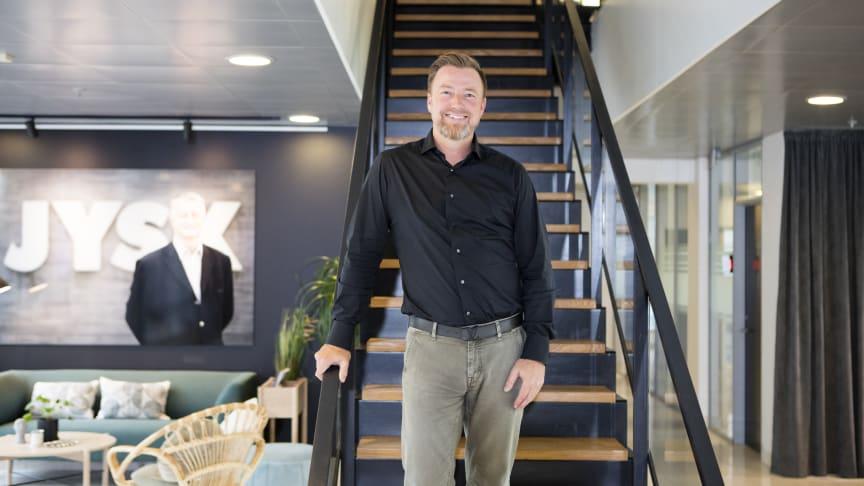 """""""Det er et resultat, som vi i familien er meget tilfredse med,"""" siger bestyrelsesformand for Lars Larsen Group, Jacob Brunsborg."""