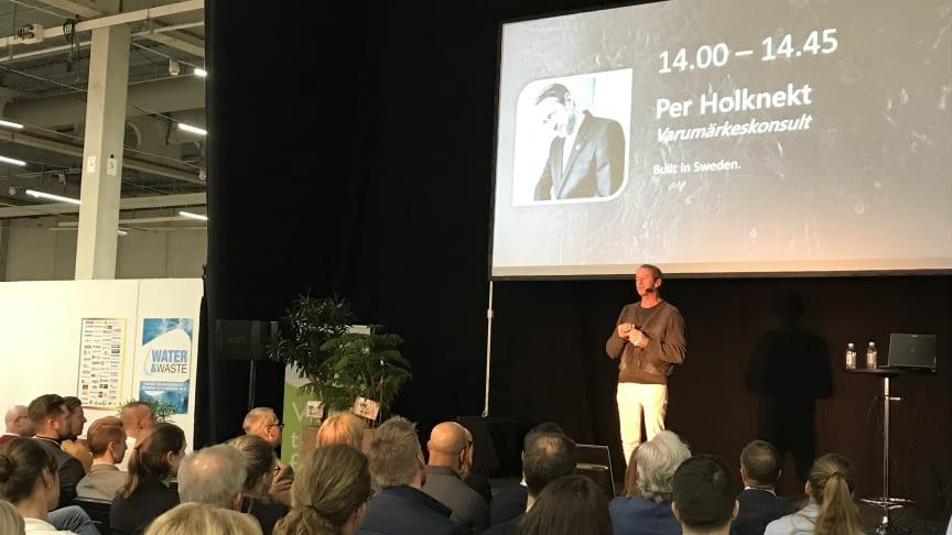 Per Holknekt drog fullt hus på Industrimässorna Malmö 2019.