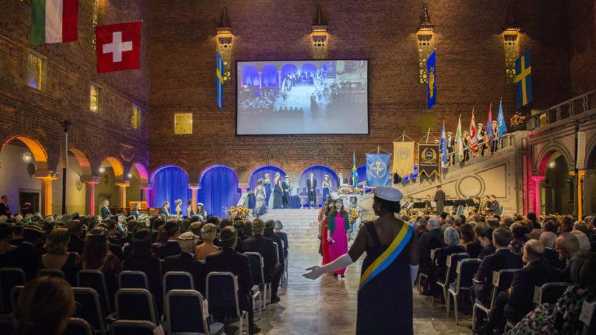 Installations- och promotionshögtid i Stockholms stadshus. Foto: Ingmarie Andersson