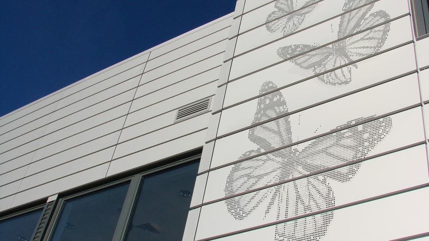 Lindab lanserar unika fasadlösningar
