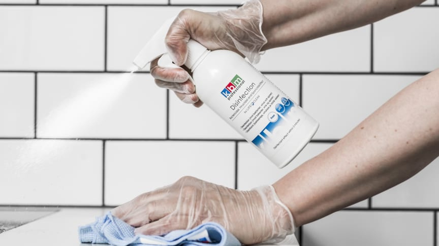 KBM Disinfection by LifeClean spray