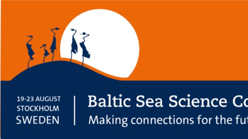Pressinbjudan Baltic Sea Science Congress, Stockholms universitet 20-23 augusti