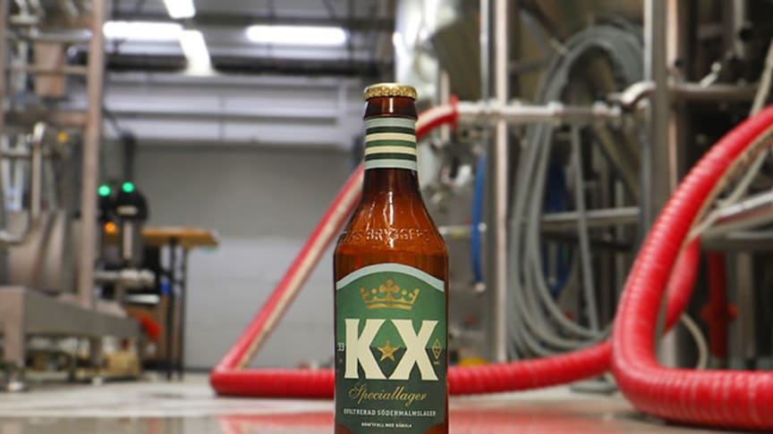 S:t Eriks Bryggeri lanserar en öl med Kennedy Bakircioglu